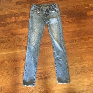 American Eagle 🦅 skinny stretch 8 long